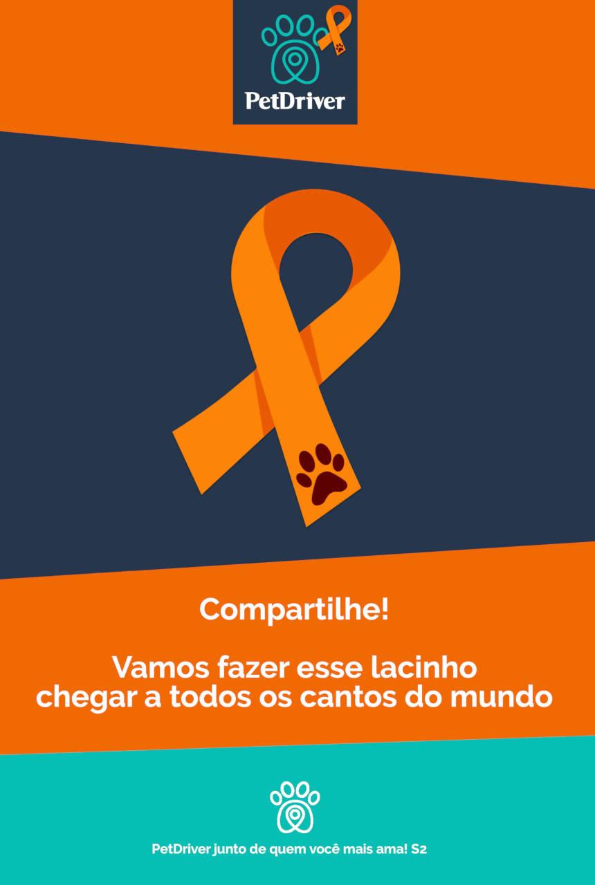 Abril é o mês da prevenção a crueldade animal!