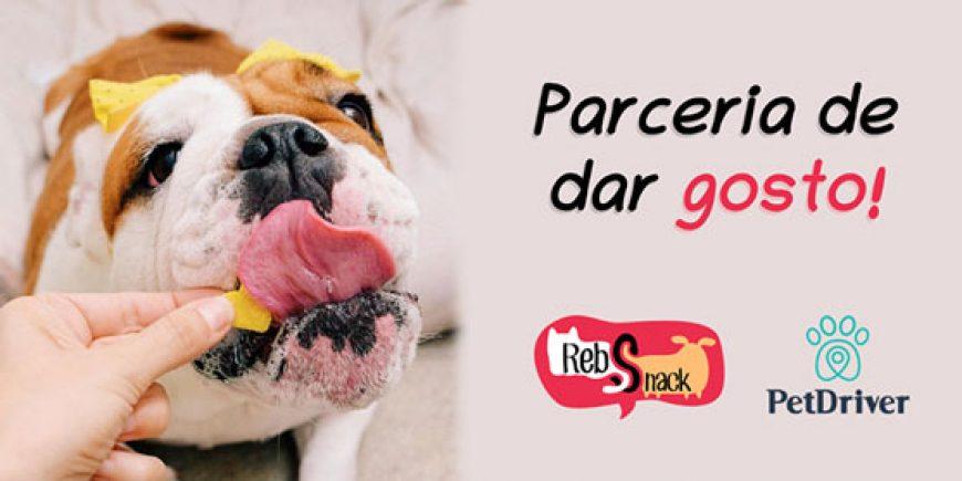 Parceria de dar gosto – RebSnack & PetDriver