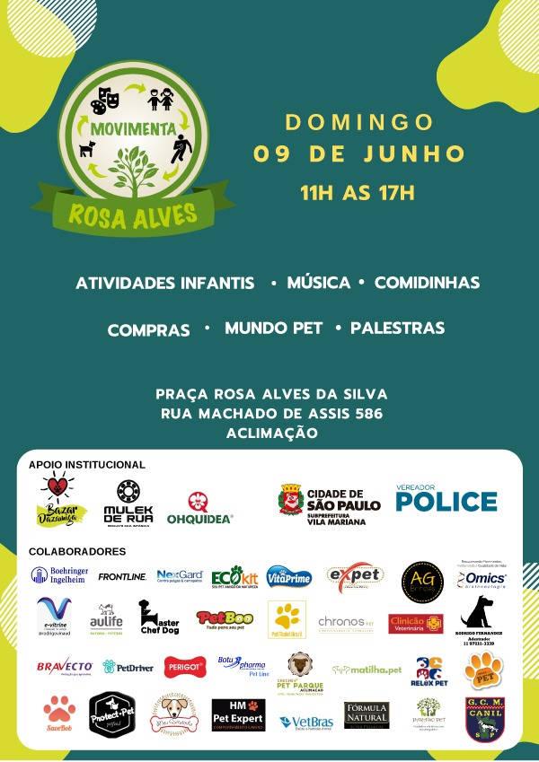 Evento Parcão Praça Rosa Alves!
