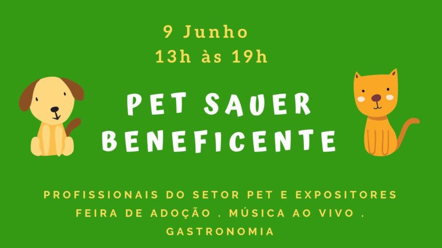 Evento Pet Sauer Beneficente