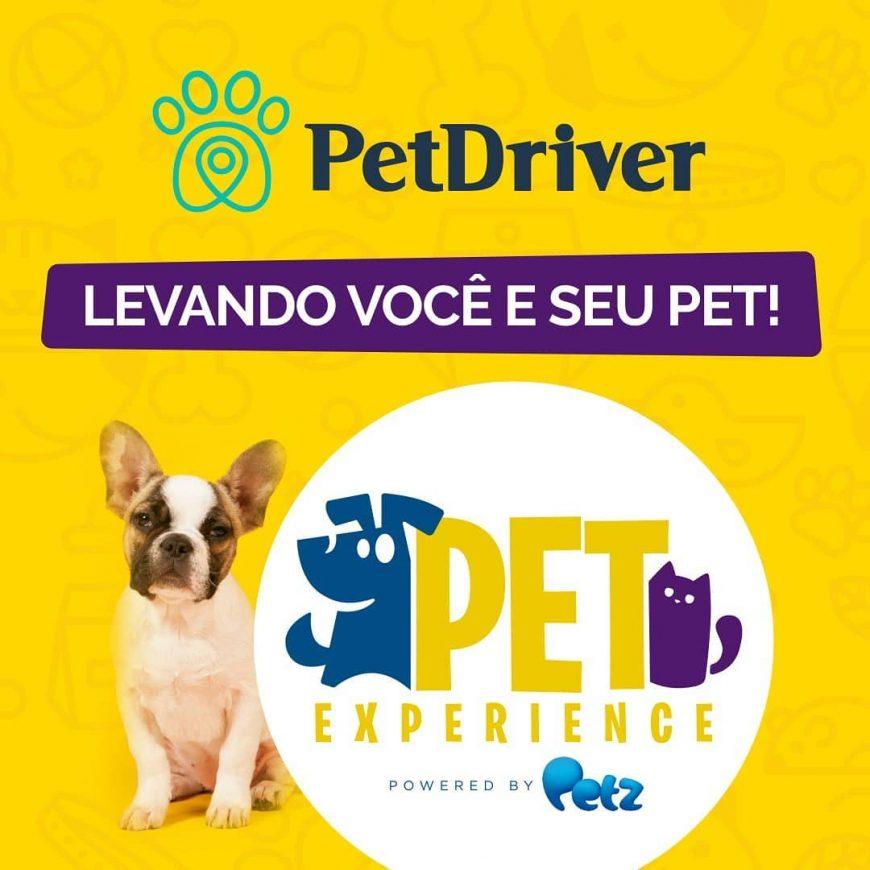 A Petdriver não podia ficar de fora da Pet Experience!