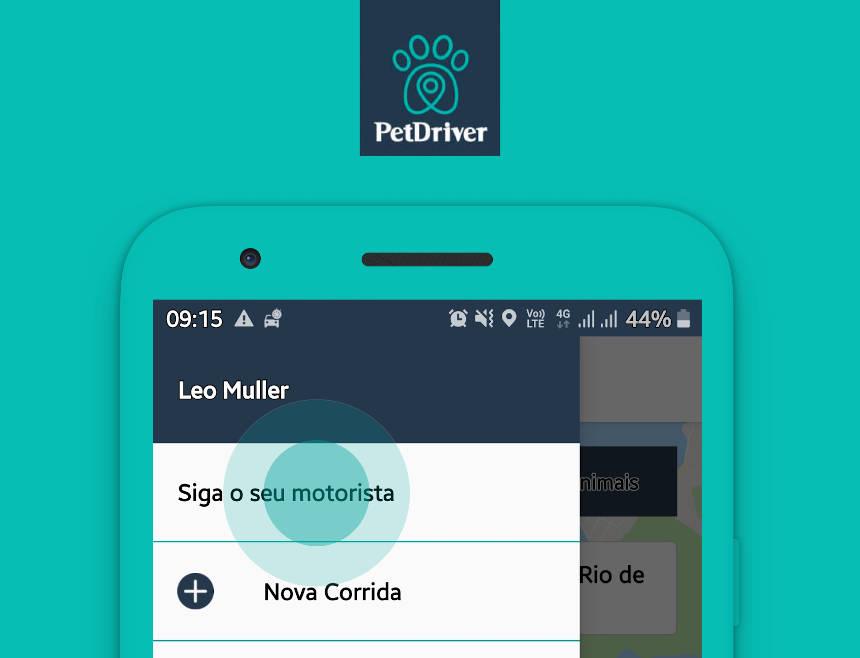 Veja como seguir seu motorista no App PetDriver!