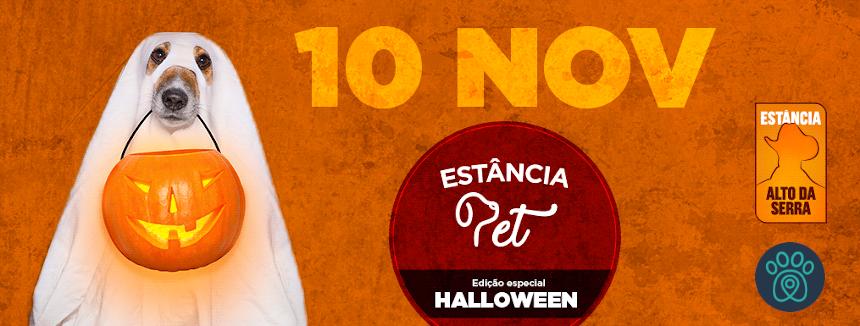 Mais de 200 mil m2 de diversão, só no Halloween do Estância Pet – SP!