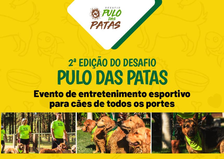 Desafio Pulo das Patas – 2ª edição da corrida pet com obstáculos