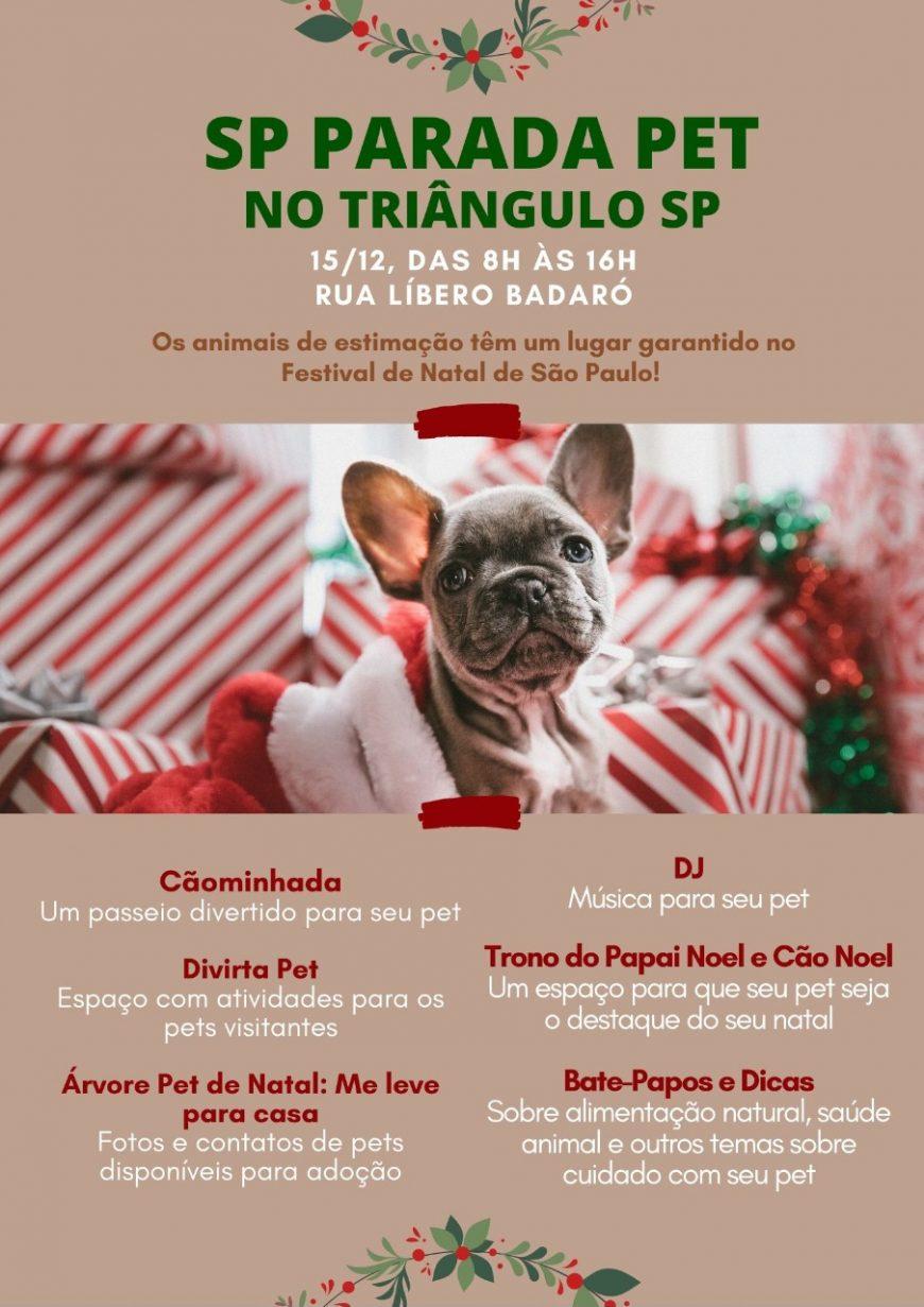 Neste domingo a Petdriver vai levar você e seu pet juntos à Parada Pet SP!
