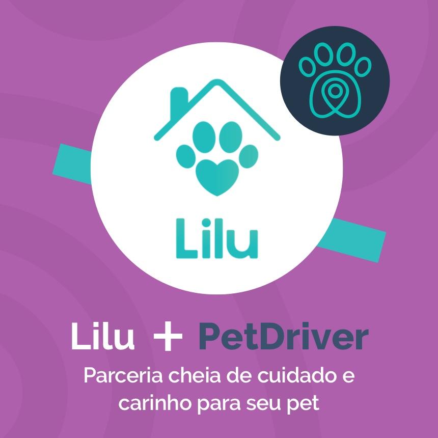 Lilu.pet e PetDriver formam parceria que leva cuidado e carinho para o seu pet