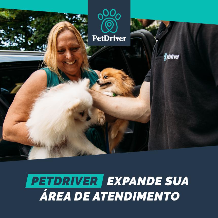 PetDriver está presente na região metropolitana do Rio de Janeiro e de São Paulo