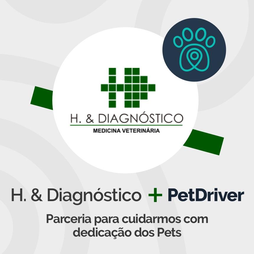 H. & Diagnóstico e PetDriver formam parceria de cuidados integrais para pacientes pets