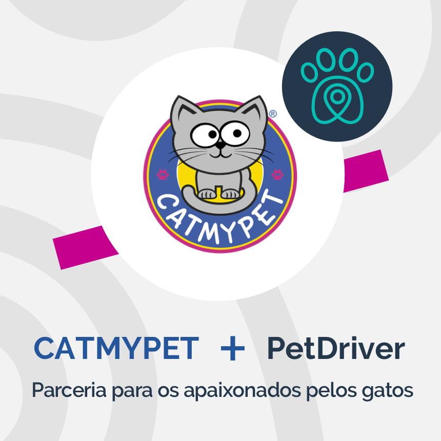 CatMyPet e PetDriver formam parceria que vai conquistar os apaixonados por gatos