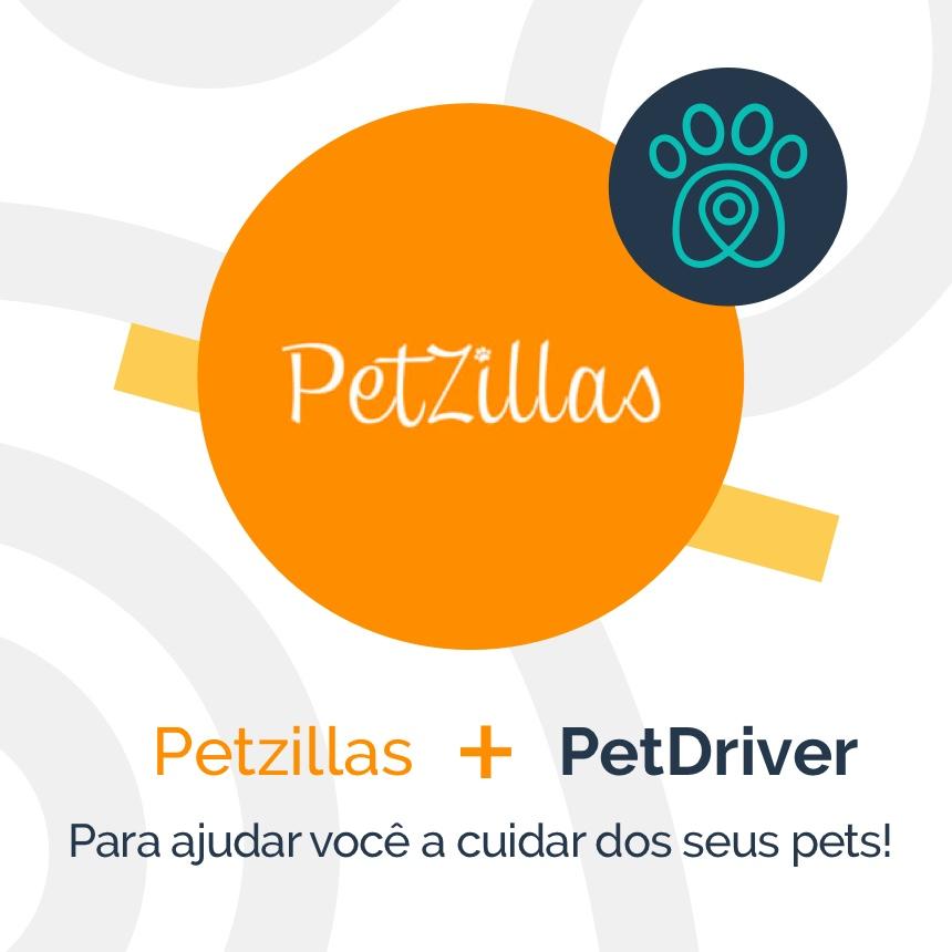 PetDriver e PetZillas formam parceria para ajudar você a cuidar do seu pet