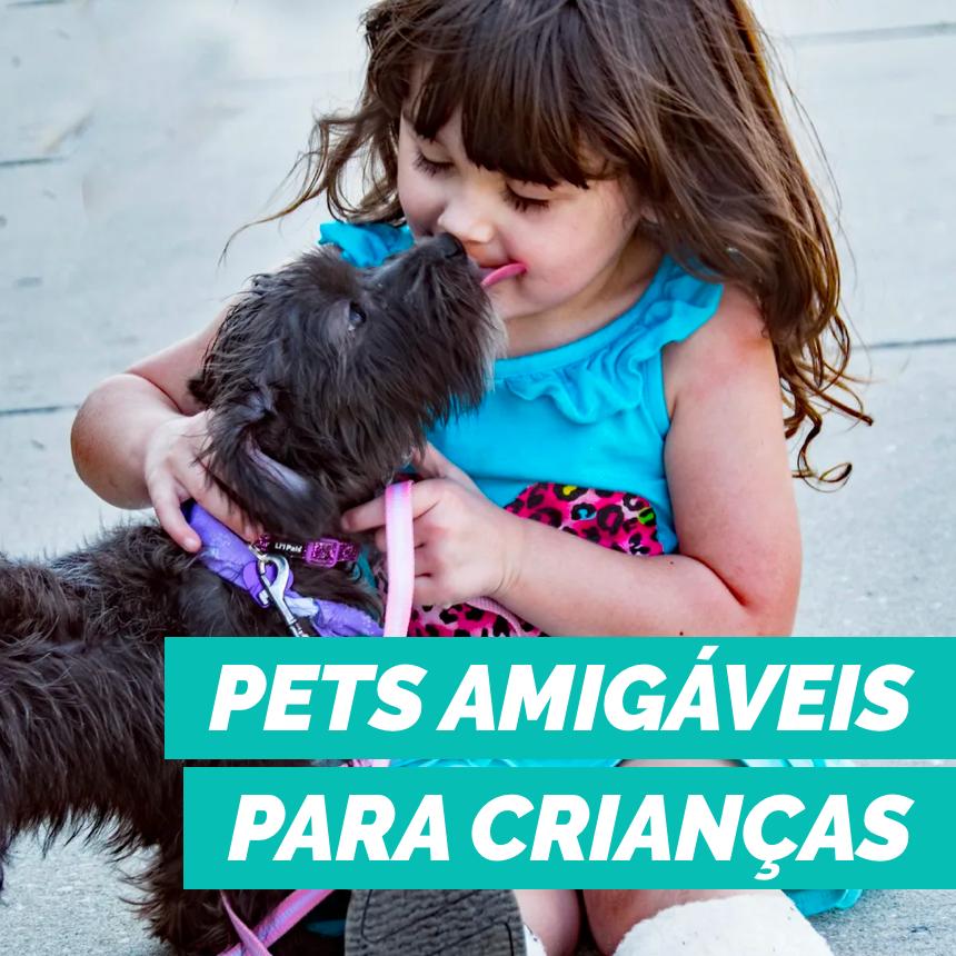 Os pets mais amigáveis para quem tem criança em casa