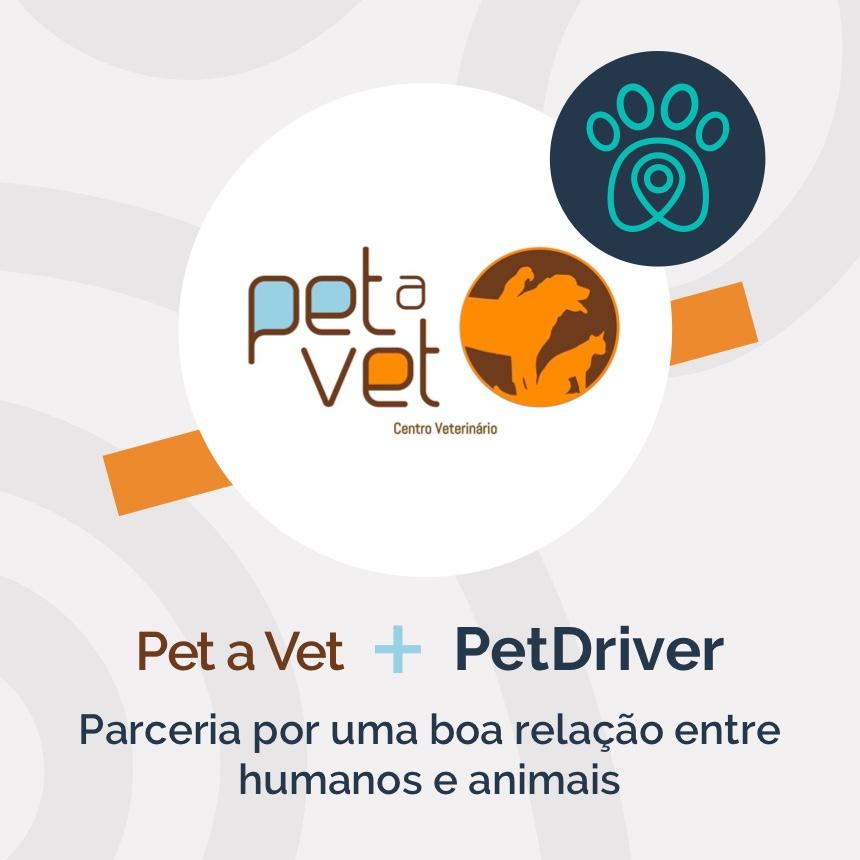 Pet a Vet e PetDriver: parceria por uma boa relação entre humanos e animais