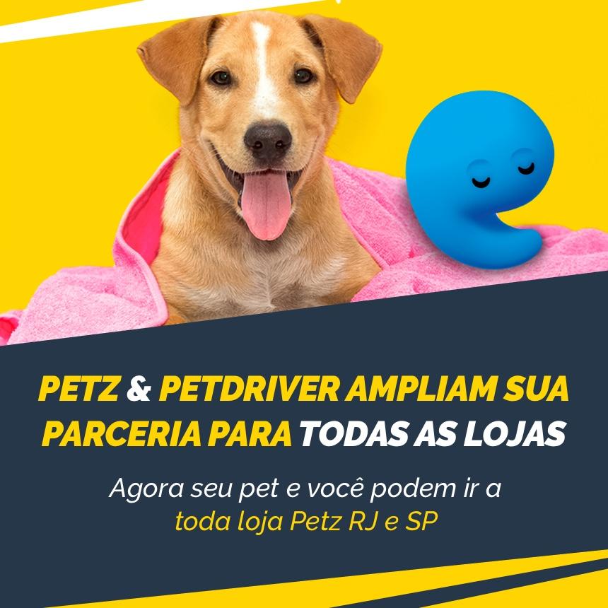 Petz e PetDriver ampliam parceria para ir às demais lojas com 40%OFF!