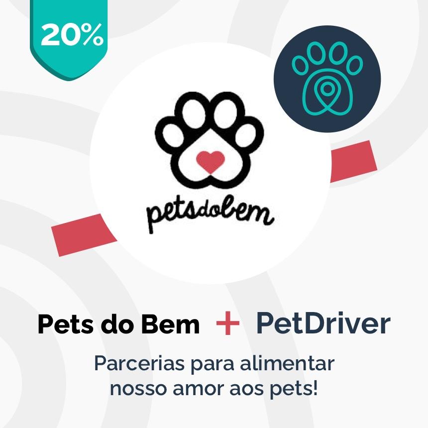 Pets do Bem e PetDriver formam parceria para alimentar nosso amor aos pets