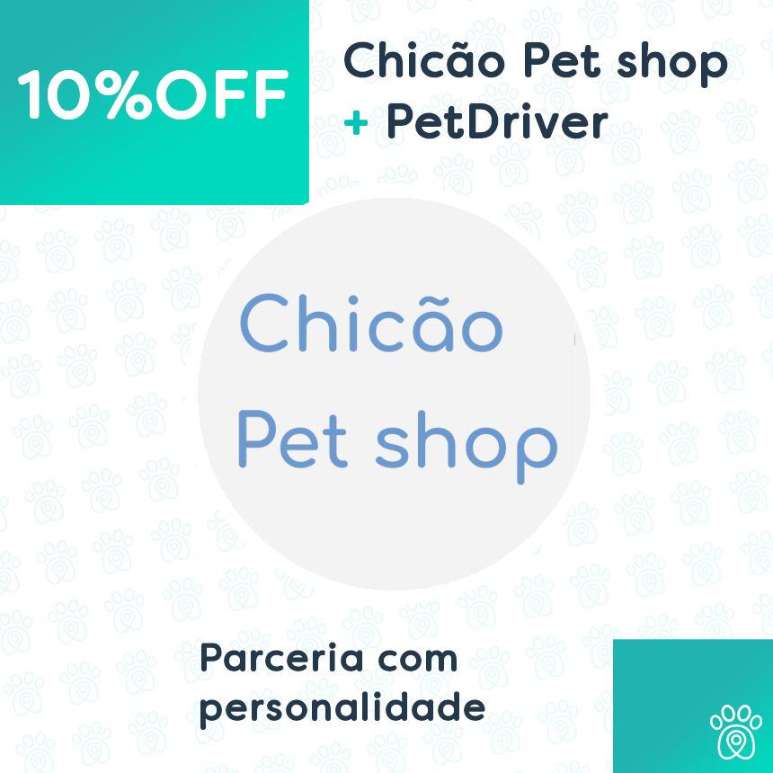 Chicão Pet Shop e PetDriver: parceria de cuidados e bem-estar para o seu pet