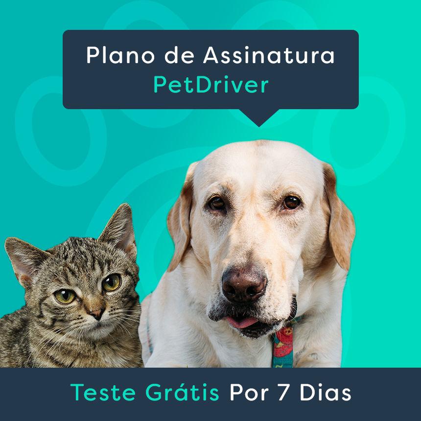 Plano de Assinatura PetDriver com 7 dias grátis!