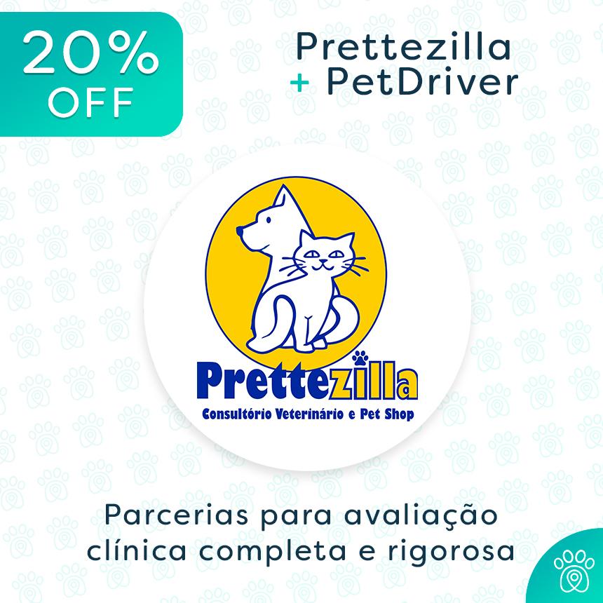 Prettezilla e PetDriver: parceria para avaliação clínica completa do seu pet