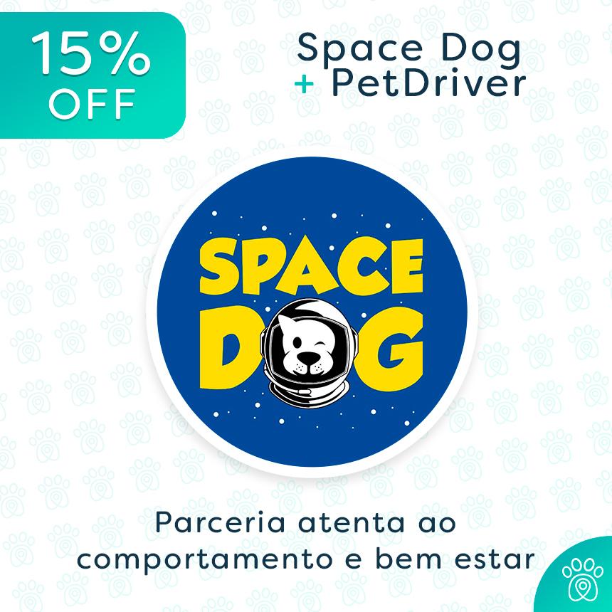 Space Dog e PetDriver: parceria para o bem estar do seu cachorro