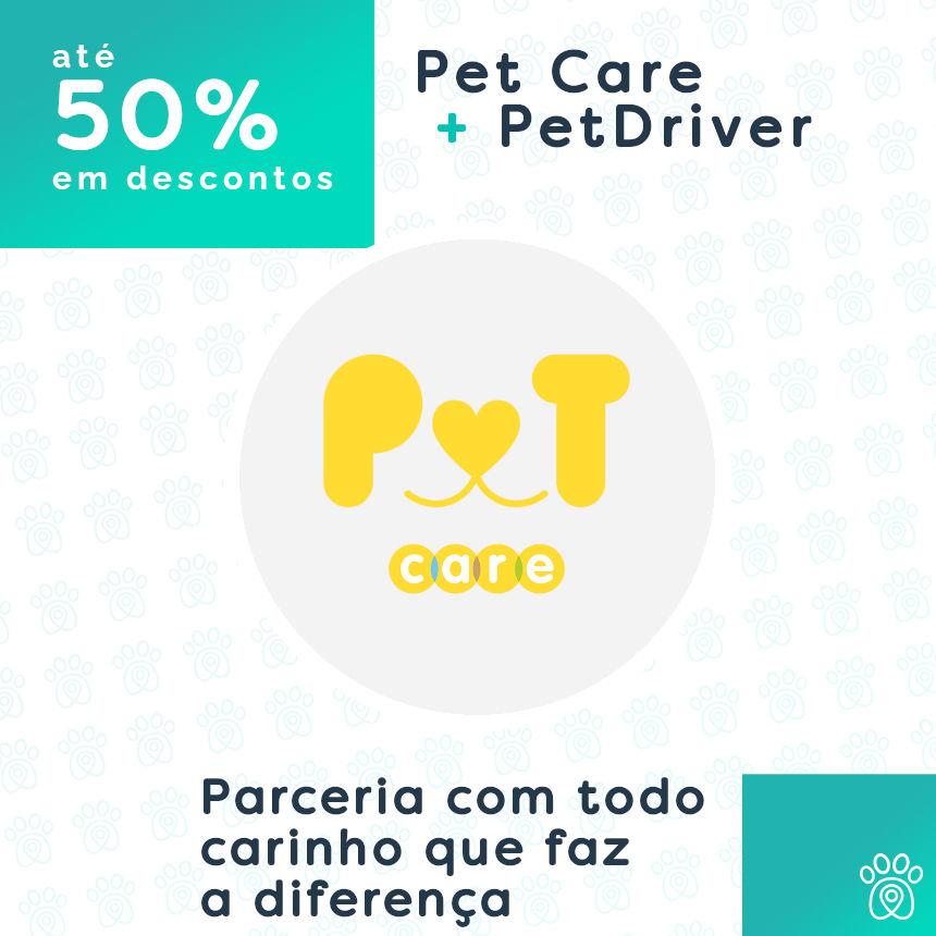 Pet Care e PetDriver numa parceria cheia de carinho que faz toda a diferença