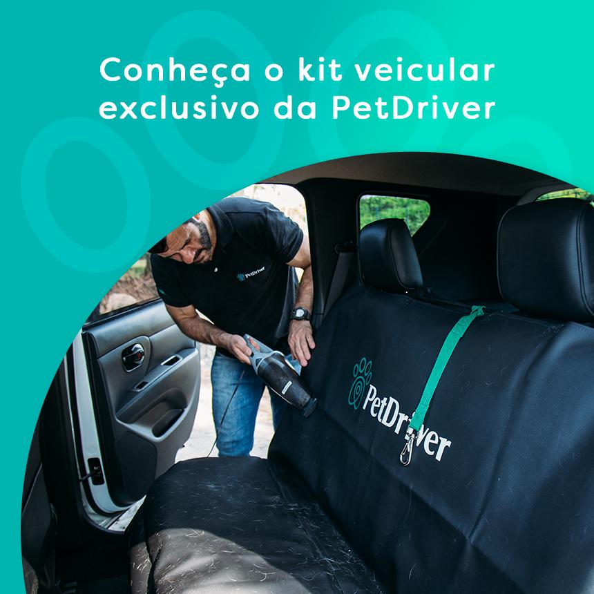 Conheça o kit veicular de proteção exclusivo da PetDriver