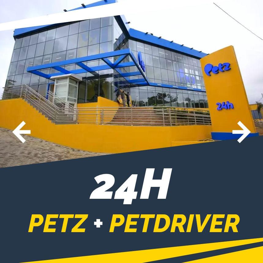 Petz e PetDriver à disposição do seu filho de 4 patas 24h por dia