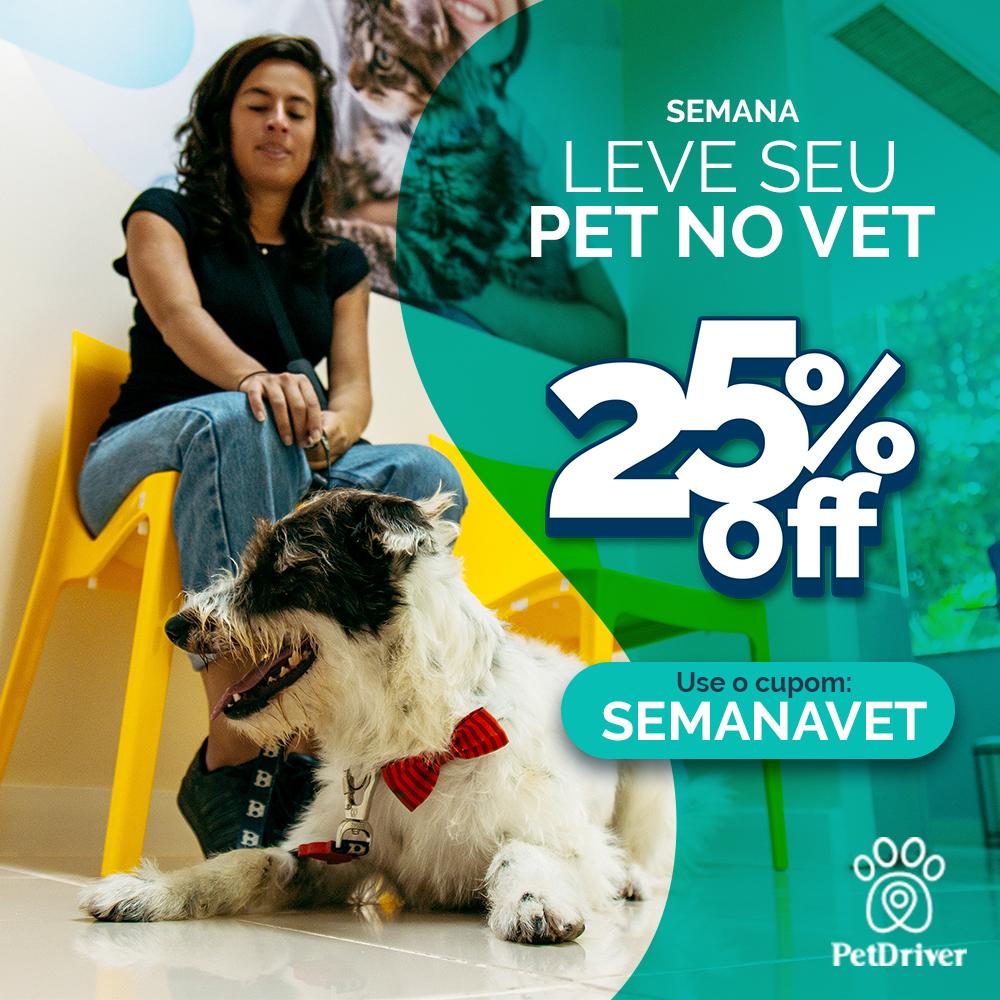 Leve o seu pet no vet com a PetDriver!